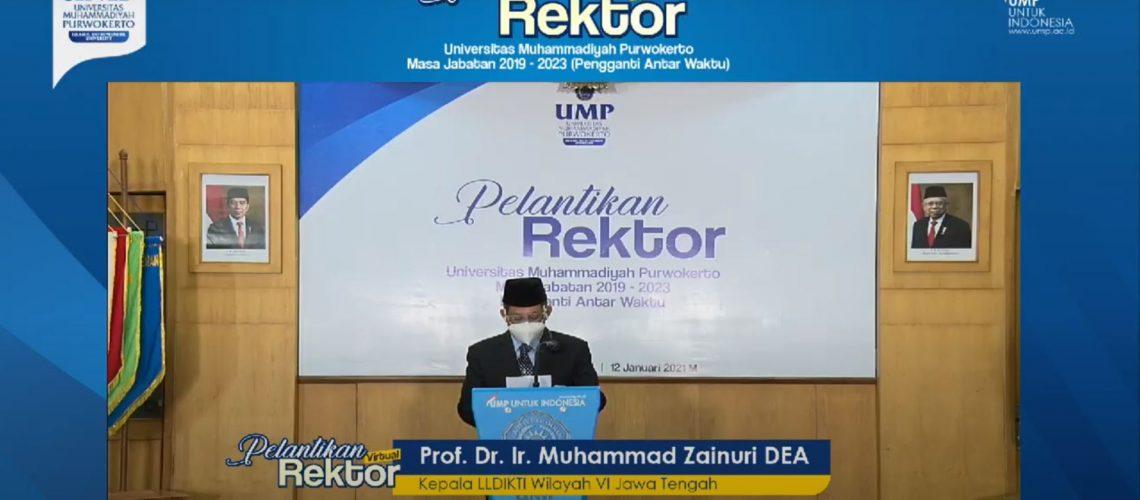 Rektor UMP 1